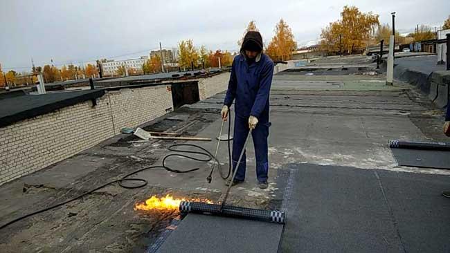 Ремонт кровли гаража в Минске